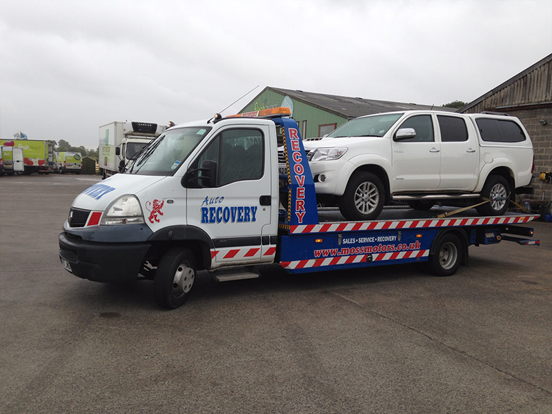 Vehicle Recovery Paisley Pickup Truck