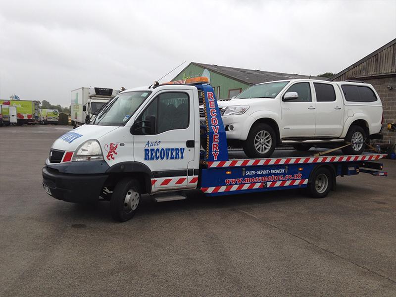 Vehicle Recovery Paisley Pickup Truck